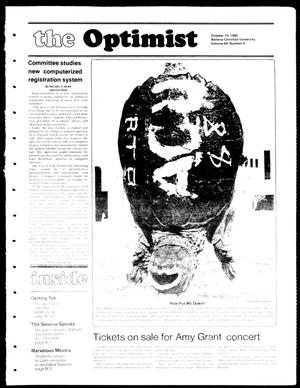 Primary view of object titled 'The Optimist (Abilene, Tex.), Vol. 68, No. 6, Ed. 1, Friday, October 10, 1980'.
