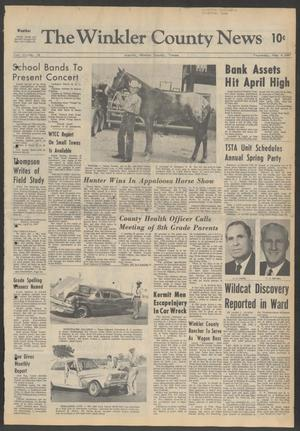 Primary view of object titled 'The Winkler County News (Kermit, Tex.), Vol. 31, No. 16, Ed. 1 Thursday, May 4, 1967'.