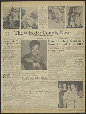 Primary view of object titled 'The Winkler County News (Kermit, Tex.), Vol. 26, No. 93, Ed. 1 Monday, March 26, 1962'.