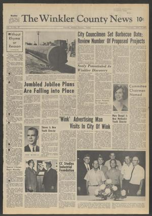 Primary view of object titled 'The Winkler County News (Kermit, Tex.), Vol. 31, No. 27, Ed. 1 Thursday, June 15, 1967'.