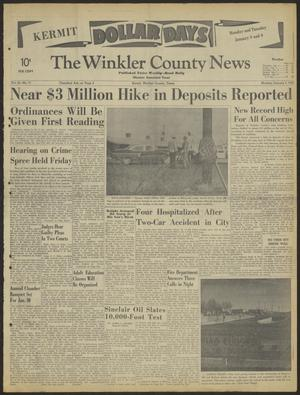 Primary view of object titled 'The Winkler County News (Kermit, Tex.), Vol. 26, No. 71, Ed. 1 Monday, January 8, 1962'.