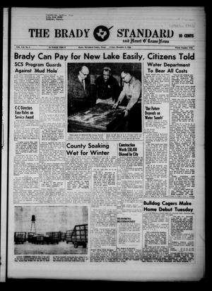 Primary view of object titled 'The Brady Standard and Heart O' Texas News (Brady, Tex.), Vol. 52, No. 8, Ed. 1 Friday, December 9, 1960'.