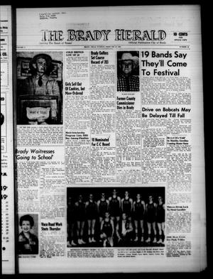 Primary view of object titled 'The Brady Herald (Brady, Tex.), Vol. 17, No. 19, Ed. 1 Tuesday, February 23, 1960'.