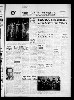 Primary view of object titled 'The Brady Standard and Heart O' Texas News (Brady, Tex.), Vol. 55, No. 1, Ed. 1 Friday, October 18, 1963'.