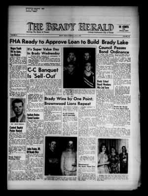Primary view of object titled 'The Brady Herald (Brady, Tex.), Vol. 18, No. 24, Ed. 1 Tuesday, April 4, 1961'.