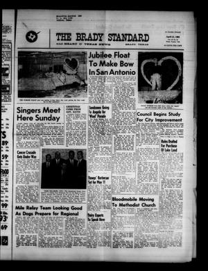 Primary view of object titled 'The Brady Standard and Heart O' Texas News (Brady, Tex.), Vol. 52, No. 27, Ed. 1 Friday, April 21, 1961'.