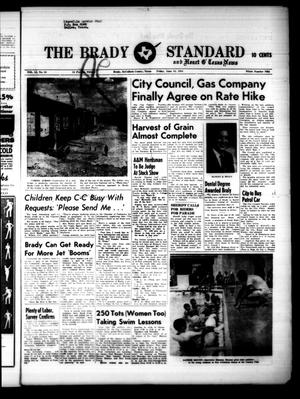 Primary view of object titled 'The Brady Standard and Heart O' Texas News (Brady, Tex.), Vol. 51, No. 34, Ed. 1 Friday, June 10, 1960'.