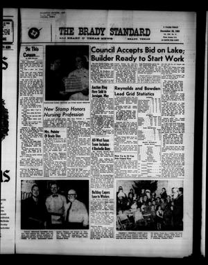 Primary view of object titled 'The Brady Standard and Heart O' Texas News (Brady, Tex.), Vol. 53, No. 11, Ed. 1 Friday, December 29, 1961'.