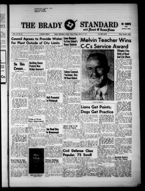Primary view of object titled 'The Brady Standard and Heart O' Texas News (Brady, Tex.), Vol. 51, No. 22, Ed. 1 Friday, March 18, 1960'.