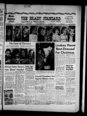 Primary view of object titled 'The Brady Standard and Heart O' Texas News (Brady, Tex.), Vol. 53, No. 10, Ed. 1 Friday, December 22, 1961'.