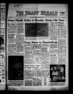 Primary view of object titled 'The Brady Herald (Brady, Tex.), Vol. 19, No. 5, Ed. 1 Tuesday, November 28, 1961'.