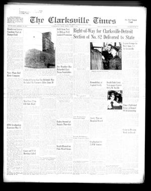 Primary view of object titled 'The Clarksville Times (Clarksville, Tex.), Vol. 83, No. 21, Ed. 1 Friday, June 1, 1956'.