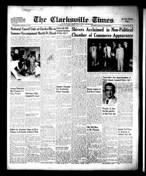 Primary view of object titled 'The Clarksville Times (Clarksville, Tex.), Vol. 88, No. 24, Ed. 1 Friday, July 2, 1954'.