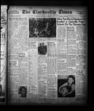 Primary view of object titled 'The Clarksville Times (Clarksville, Tex.), Vol. 75, No. 34, Ed. 1 Friday, September 12, 1947'.