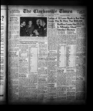 Primary view of object titled 'The Clarksville Times (Clarksville, Tex.), Vol. 75, No. 31, Ed. 1 Friday, August 29, 1947'.