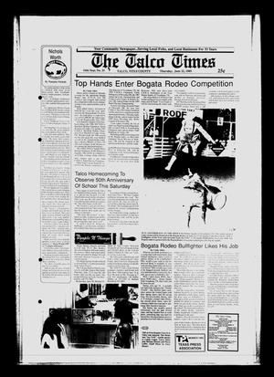 Primary view of object titled 'The Talco Times (Talco, Tex.), Vol. 54, No. 21, Ed. 1 Thursday, June 22, 1989'.