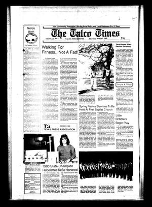 Primary view of object titled 'The Talco Times (Talco, Tex.), Vol. 54, No. 5, Ed. 1 Thursday, March 2, 1989'.