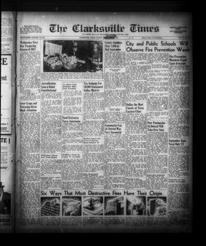 Primary view of The Clarksville Times (Clarksville, Tex.), Vol. 75, No. 37, Ed. 1 Friday, October 3, 1947