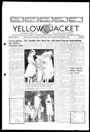 Primary view of object titled 'Yellow Jacket (Brownwood, Tex.), Vol. 37, No. 2, Ed. 1, Tuesday, September 30, 1952'.