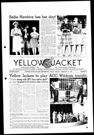 Primary view of object titled 'Yellow Jacket (Brownwood, Tex.), Vol. 37, No. 17, Ed. 1, Tuesday, February 17, 1953'.