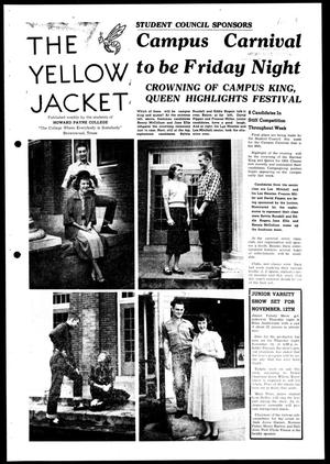 Primary view of object titled 'The Yellow Jacket (Brownwood, Tex.), Vol. 38, No. 4, Ed. 1, Wednesday, October 28, 1953'.