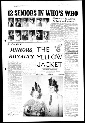 Primary view of object titled 'The Yellow Jacket (Brownwood, Tex.), Vol. 38, No. 5, Ed. 1, Wednesday, November 4, 1953'.