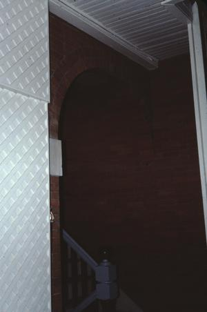 Primary view of object titled '[Davis House, (brick arch)]'.