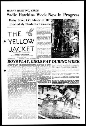 The Yellow Jacket (Brownwood, Tex.), Vol. 38, No. 13, Ed. 1, Wednesday, February 17, 1954