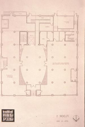 Primary view of object titled '[Interstate Forwarding Co Warehouse, (floor 1 plan)]'.
