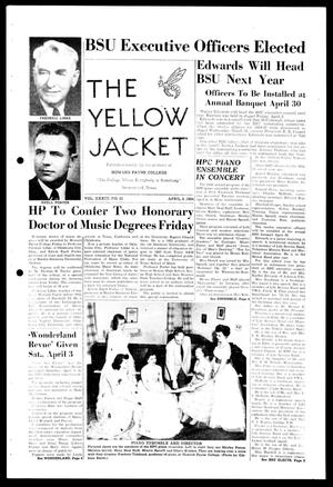Primary view of object titled 'The Yellow Jacket (Brownwood, Tex.), Vol. 38, No. 20, Ed. 1, Thursday, April 8, 1954'.