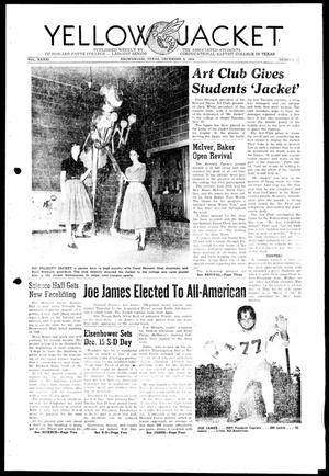 Primary view of object titled 'Yellow Jacket (Brownwood, Tex.), Vol. 41, No. 11, Ed. 1, Thursday, December 9, 1954'.