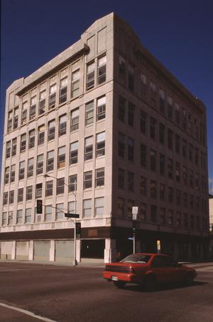 Primary view of object titled '[Masonic Blue Lodge/Western Union Building]'.