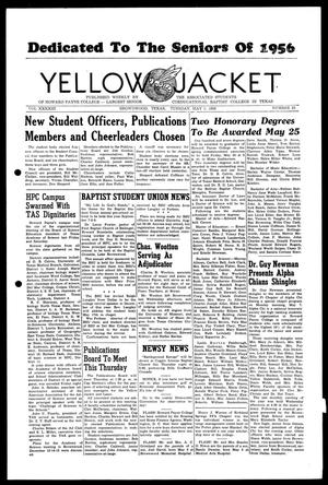 Primary view of object titled 'Yellow Jacket (Brownwood, Tex.), Vol. 43, No. 25, Ed. 1, Tuesday, May 8, 1956'.