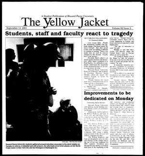 Primary view of object titled 'The Yellow Jacket (Brownwood, Tex.), Vol. 92, No. 2, Ed. 1, Thursday, September 13, 2001'.
