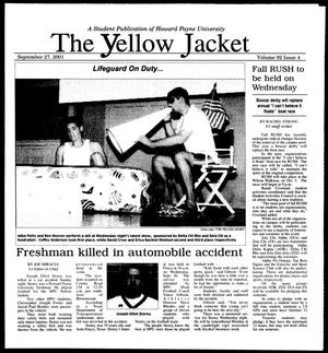 The Yellow Jacket (Brownwood, Tex.), Vol. 92, No. 4, Ed. 1, Thursday, September 27, 2001