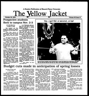 Primary view of object titled 'The Yellow Jacket (Brownwood, Tex.), Vol. 92, No. 8, Ed. 1, Thursday, October 25, 2001'.
