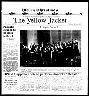 Primary view of object titled 'The Yellow Jacket (Brownwood, Tex.), Vol. 92, No. 12, Ed. 1, Thursday, December 6, 2001'.