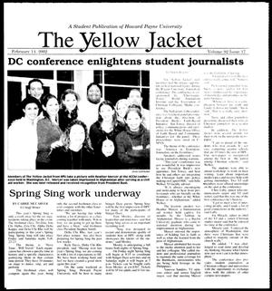 Primary view of object titled 'The Yellow Jacket (Brownwood, Tex.), Vol. 92, No. 17, Ed. 1, Thursday, February 14, 2002'.