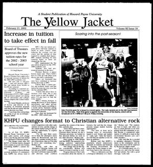Primary view of object titled 'The Yellow Jacket (Brownwood, Tex.), Vol. 92, No. 18, Ed. 1, Thursday, February 21, 2002'.
