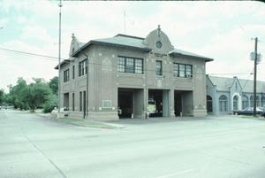 Primary view of object titled '[Oak Lawn Fire Station]'.