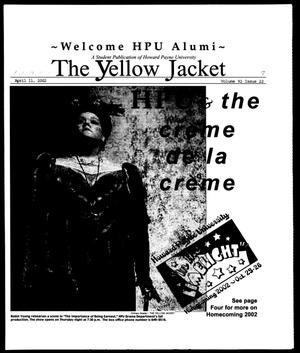 Primary view of object titled 'The Yellow Jacket (Brownwood, Tex.), Vol. 92, No. 7, Ed. 1, Thursday, October 24, 2002'.