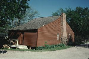 Primary view of object titled '[Collin McKinney Cabin]'.
