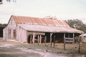 Primary view of object titled '[Henry Herbort Barn]'.