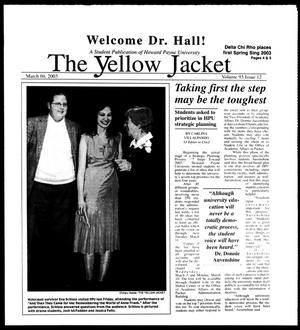 The Yellow Jacket (Brownwood, Tex.), Vol. 93, No. 12, Ed. 1, Tuesday, March 4, 2003