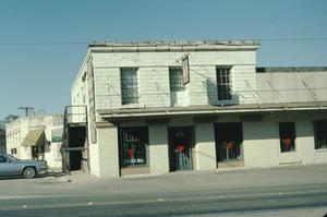 Primary view of object titled '[Barbee-Berry Mercantile Building, (Exterior)]'.