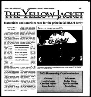 Primary view of object titled 'The Yellow Jacket (Brownwood, Tex.),  [Vol. 96], No. 3, Ed. 1, Friday, October 7, 2005'.