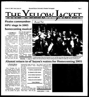 Primary view of object titled 'The Yellow Jacket (Brownwood, Tex.),  [Vol. 96], No. 5, Ed. 1, Friday, October 21, 2005'.
