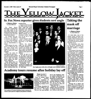 Primary view of object titled 'The Yellow Jacket (Brownwood, Tex.),  [Vol. 96], No. 7, Ed. 1, Thursday, December 1, 2005'.