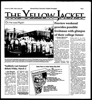 Primary view of object titled 'The Yellow Jacket (Brownwood, Tex.), No. 10, Ed. 1, Friday, February 24, 2006'.