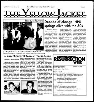 Primary view of object titled 'The Yellow Jacket (Brownwood, Tex.),  [Vol. 96], No. 13, Ed. 1, Friday, April 7, 2006'.